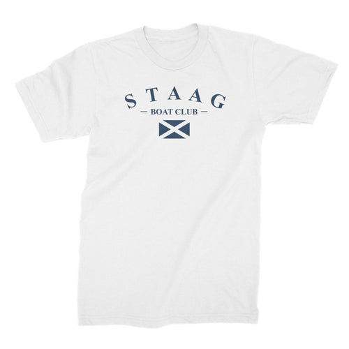 Boat club flag t-shirt