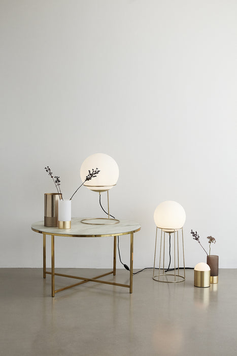 Table Glass-Gold