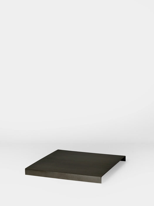 Tray for Plant Box  Black Brass