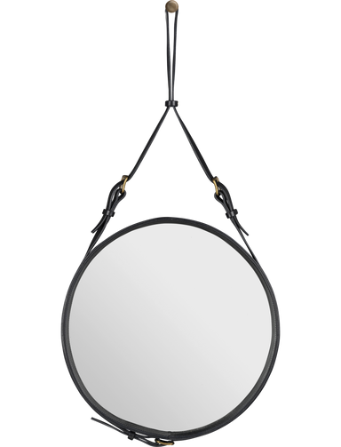 Adnet Mirror Ø45 Black