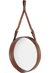 Adnet Mirror Ø45 Tan
