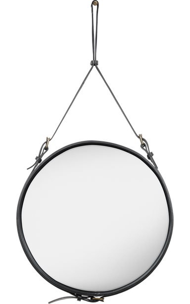 Adnet Mirror Ø 58 Black