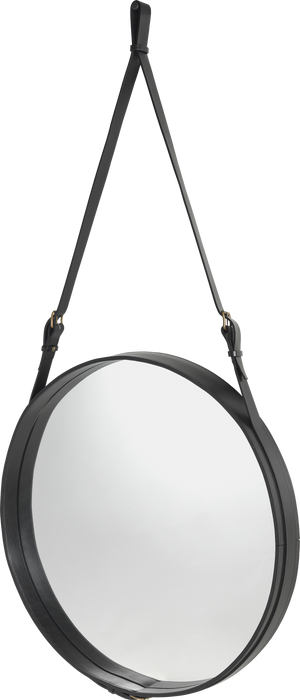 Adnet Mirror Ø 70 Black