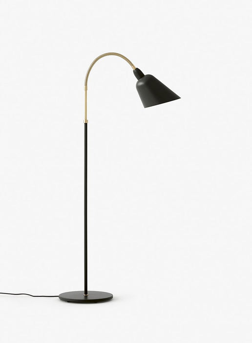 Bellevue Gulvlampe Black/Brass