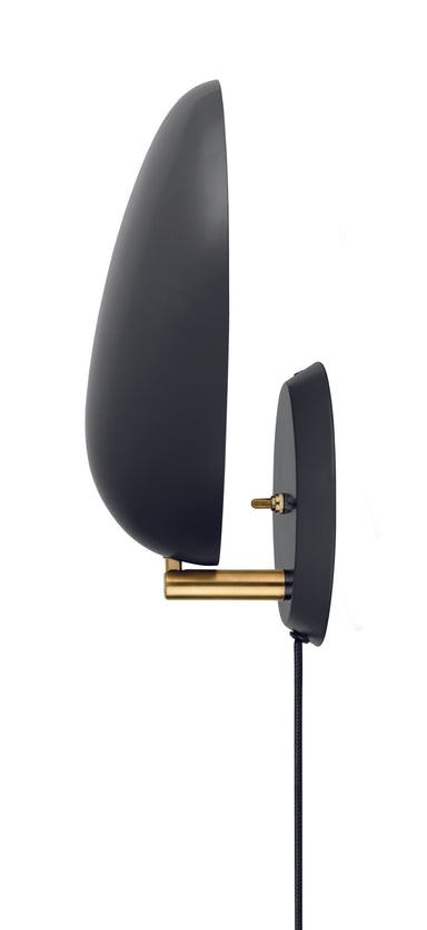 Cobra Wall Lamp Jetblack