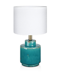 Cous Bordlampe Antique blue