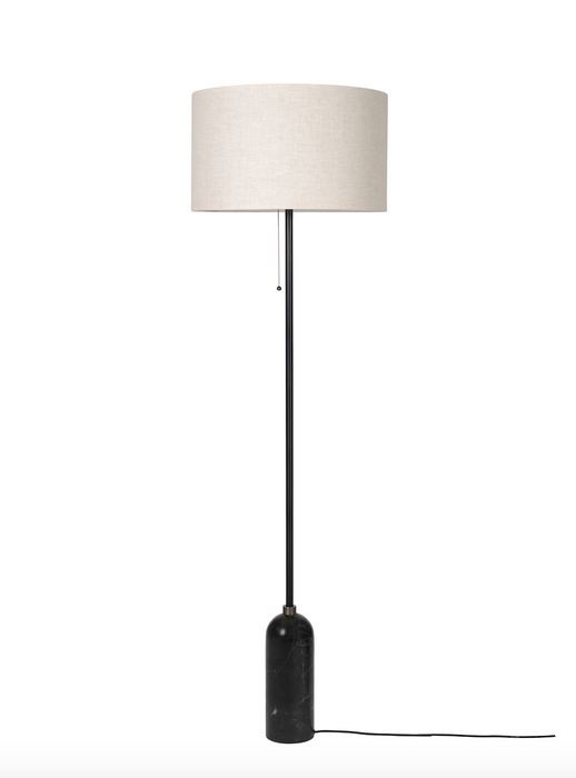 Gravity Gulvlampe, Sort-Canvas