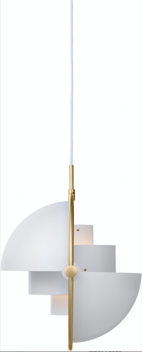Multi-Lite Brass-White