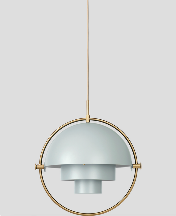Multi-Lite Sea Grey-Brass