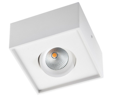 Cube Lux  7Watt LED 2700K - Hvit