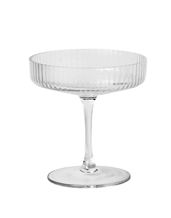 Ripple Champagne Saucer 2pk