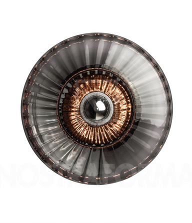 New Wave Optic XL Wall Lamp - Smoke