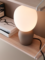 Buddy Bordlampe Sand-Opal