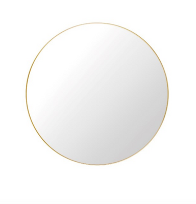 Gubi Wall Mirror, Brass