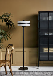Floor lamp Glass-Iron