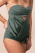 """STAYkini Onyx Keyhole Tankini Top Bathing Suit"""