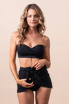 """STAYkini Onyx Wrap Skirt Bathing Suit"""