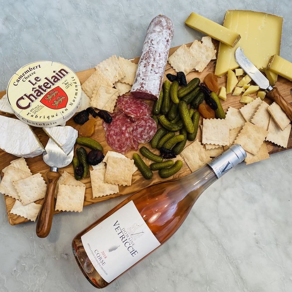 "Bastille Day Cheese, Meat & Wine Assortment (10% off code ""FROMAGE"" at Checkout on first order)"