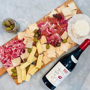Load image into Gallery viewer, La Dolce Vita Italian Cheese, Charcuterie & Wine Assortment