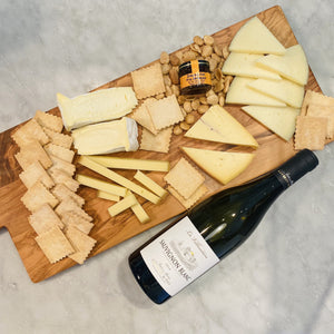 Greatest Hits & Wine (Vegetarian Cheese Assortment)