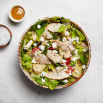 La Fromagerie - gourmet salad l'Occitane goat cheese chicken