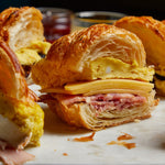 La Fromagerie - Breakfast croissant sandwiches