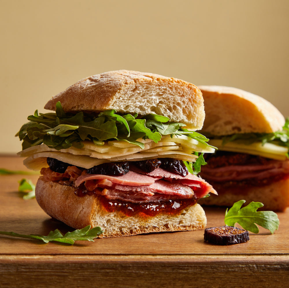 La Fromagerie - gourmet sandwich Toulouse smoked duck breast manchego dried figs