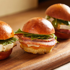 Load image into Gallery viewer, La Fromagerie - catering gourmet sliders