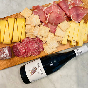 Thanksgiving Cheese, Meat & Wine