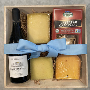 Ultimate Cheese & Wine Gift Box (Only available for California)