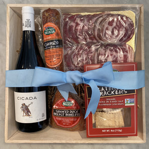 Ultimate Meat & Wine Gift Box (Only available for California)