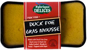 Load image into Gallery viewer, La Fromagerie - paté duck foie gras Fabrique Délices