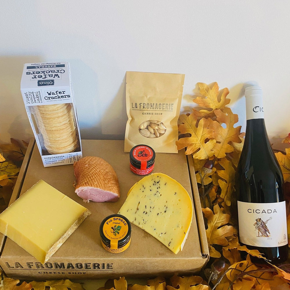 Fancy Cheese & Meat Gift Box (Refrigerated Box) (Wine Pairing available for CA)