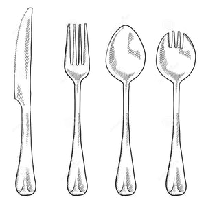 Load image into Gallery viewer, Set of utensils per person
