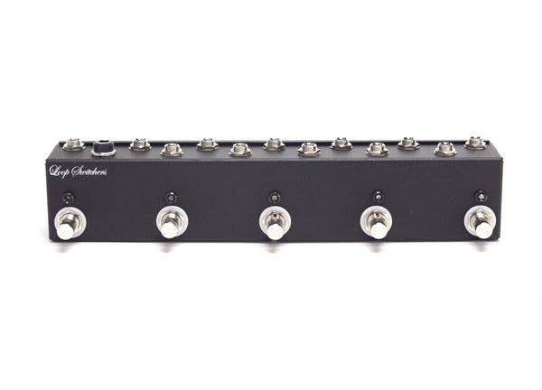 5 Channel True Bypass Switch