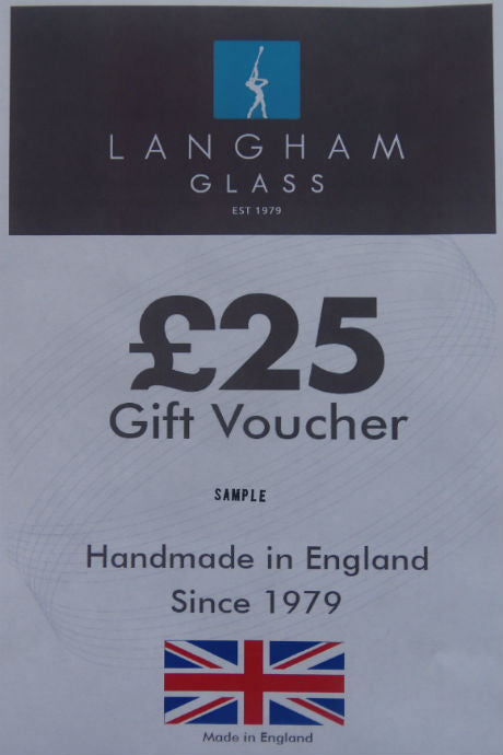 Langham Glass £25 gift voucher