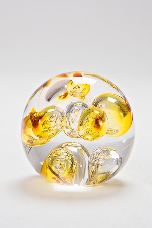 Air Paperweight, handmade at Langham Glass, Norfolk