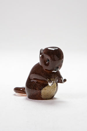 Beaver, handmade at Langham Glass, Norfolk