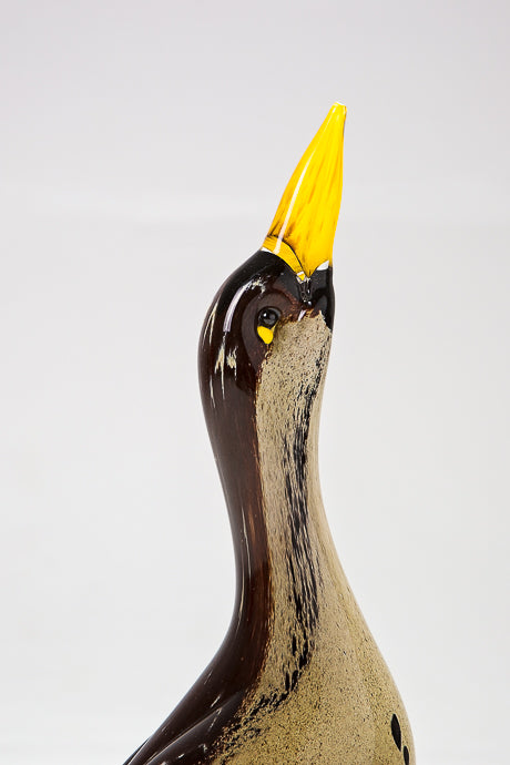 Handmade Bittern, made in Norfolk at Langham Glass