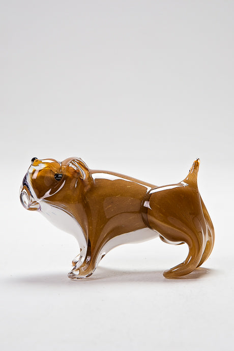 Glass Bulldog by Langham Glass