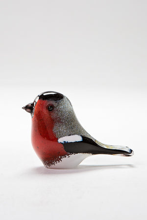 Handmade Bullfinch, made in Norfolk at Langham Glass