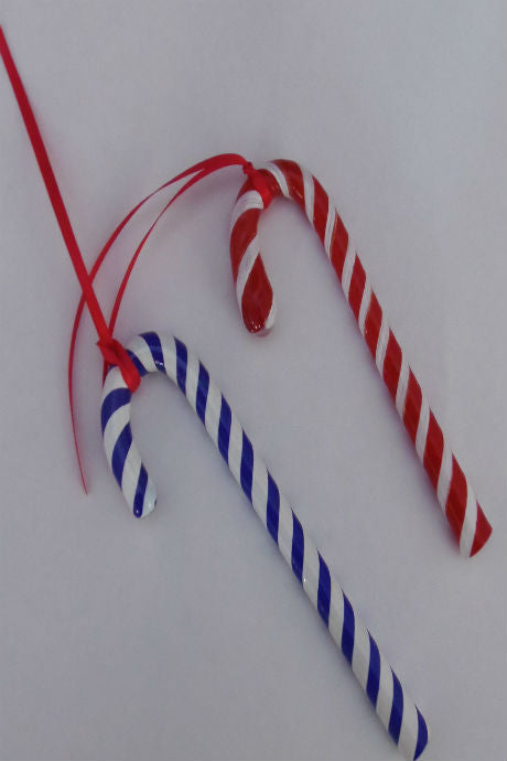 Langham Glass Christmas Candy Cane