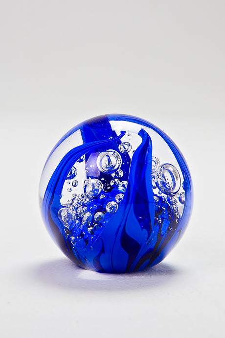 Celeste Paperweight, handmade at Langham Glass, Norfolk