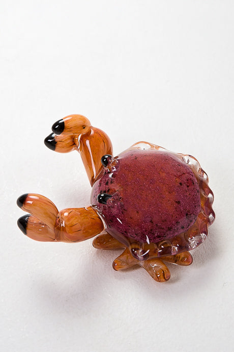 Handmade Glass Crab