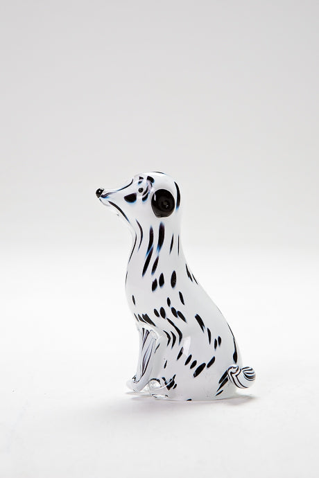 Handmade Dalmation Dog, made in Norfolk at Langham Glass