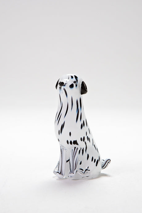 Handmade Dalmatian Dog, made in Norfolk at Langham Glass
