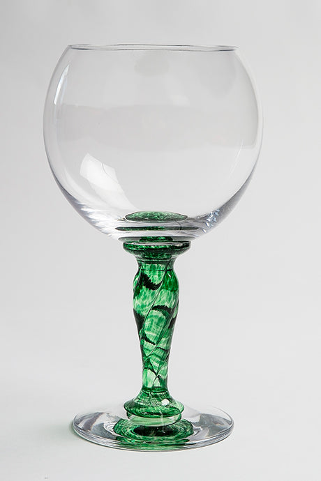 Emerald Gin Glass by Langham Glass