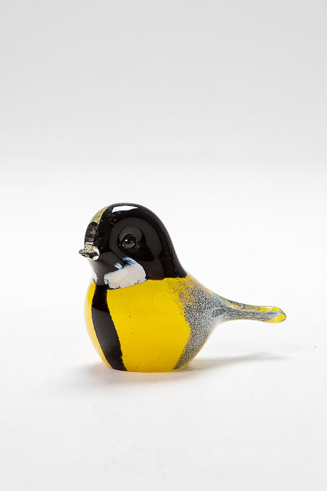 Handcrafted Great Tit by Langham Glass