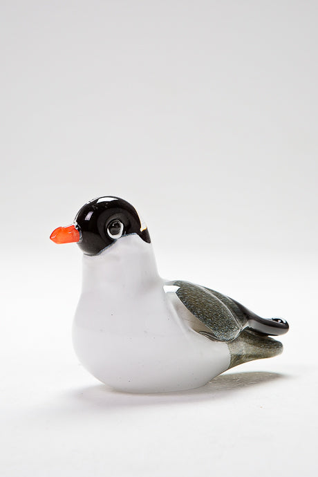 Handcrafted glass Gull