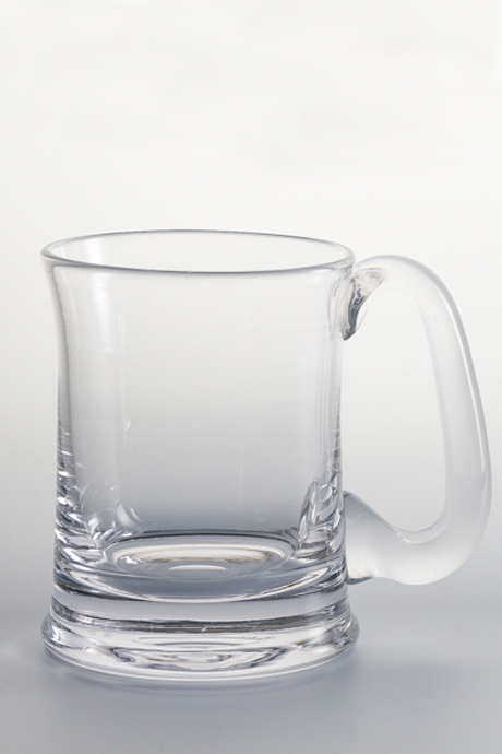 Langham Glass Hand Sheared Pint Tankard